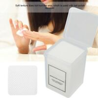 200Pcs Nail Art Manicure Polish Remover Cleaner Wipe Lint Free Cotton Pads Paper
