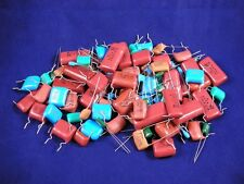 (250+ pcs.) Radial Film Capacitor - Grab Bag, assorted values and voltage