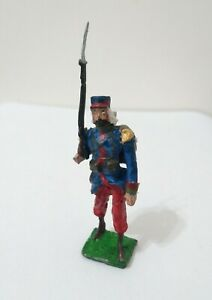 ARGENTINE INFANTRY FUSILIER 'MILITARY LEGION' LEAD TOY SOLDIER 1970's