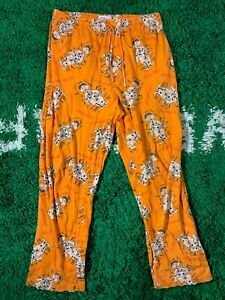 2002 Hasbro Operation Brand Surgery Game Humor Funny Orange Sleepwear bottoms L