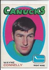 1971-72 OPC OPEECHEE Wayne Connelly #237 - no crease
