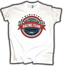 Daytona Speedway T-Shirt US Car V8 Hot Rod Fastback Schrauber Garage Rockabilly