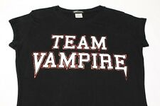 Equipo Vampiro - Aspecto Mojado Sello - Negro - NIÑA Talla Mediana Camiseta