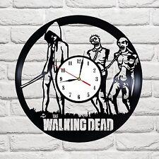 The Walking Dead 10 design vinyl record wall clock home decor art game move