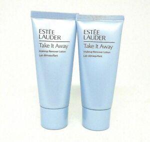 Lot/2 Estee Lauder Take It Away Makeup Remover Lotion 1 oz / 30 ml each