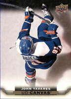 2015-16 Upper Deck Canvas #C55 JOHN TAVARES  NY Islanders