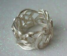 "DUR-Schmuck Ring Gr. 54  ""Perlennest"" 925er Sterling-Silber, R4448"