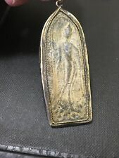 Antique Thailand Religious Amulet Pendant Ethnic Unique Jewelry Making Supply