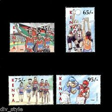 Kenya 2008 Beijing Olympics set of 4 mnh stamps
