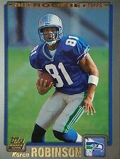 NFL 338 Koren Robinson Seattle Seahawks Topps 2001 Rookie