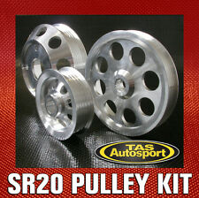 LIGHTWEIGHT PULLEY KIT suits Nissan 240SX S14 S15 Silvia SR20DET