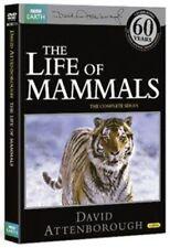 David Attenborough Life of Mammals Repackaged DVD Documentary UK New Sealed R2