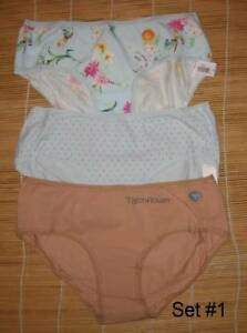 3 Gap Body Love by Gap Cotton Panties HIPSTER Size Medium You choose set