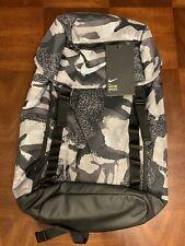 Nike Vapor Speed Printed Training Backpack GREY/BLACK CAMO BA5815-472  New!!