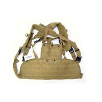 GILET TATTICO SOFTAIR BASE MOLLE TAN (H7011T) AIRSOFT TACTICAL VEST CHEST RIG