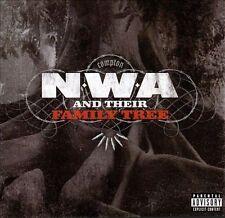 N.W.A and Their Family Tree [PA] by N.W.A (CD, Oct-2008, Priority Records)