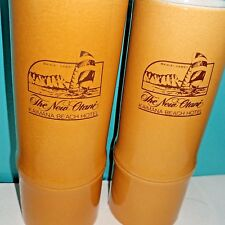 2 Tiki Bamboo Look Mugs The New Otani Kaimana Beach Hotel Daga Hawaii