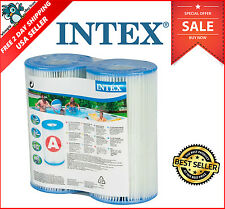 Intex Type A Or C Filter Cartridge For Pools, Pool Filter,Twin Pack FREE-SHIP