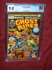 Marvel Spotlight #9 CGC 9.8     Ghost Rider!
