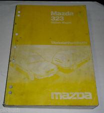 Werkstatthandbuch Mazda 323 Kombi Station Wagon BF / BW, Stand 02/1986