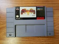 Shadowrun SNES Authentic Super Nintendo Entertainment System, 1993