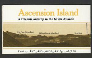 Ascension 1981 £1.20 Complete booklet SG SB3a.