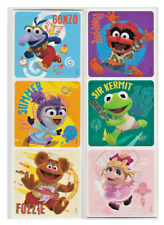"25 Muppet Babies Glitter Stickers, 2.5"" x 2.5"" each, Party Favors"