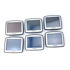 """Lot of (6) TomTom ONE 3"""" Portable GPS Navigators N14644 UNTESTED Read Descr"""
