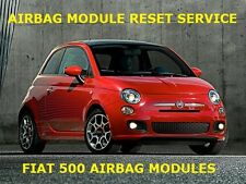 FIAT 500L AIRBAG MODULE CRASH DATA RESET FOR MODULE PART NUMBER 51964430