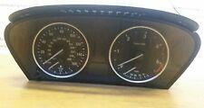 BMW 5 SERIES E60/61 SPEEDOMETER INSTRUMENT CLUSTER CLOCK DIESEL 9168865 #ob3 oem