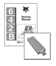 Bobcat 642B Skid Steer Loader Service Repair Manual USB Stick + Download