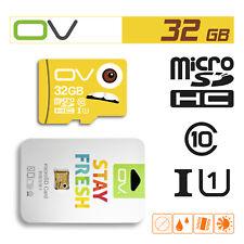 Lot 10 Pcs OV 80MB/s 32GB TF Micro SD Card SDHC UHS-I Class 10 Memory Wholesale