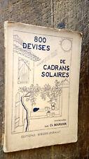 88 devises de cadrans solaires présentées par Ch. Boursier