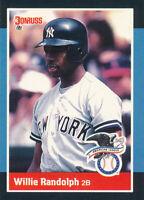 Willie Randolph 1988 Donruss All-Stars  #3 New York Yankees card