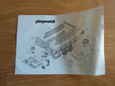Playmobil BAUANLEITUNG Anhänger