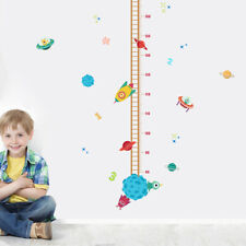 Kids Height Chart Wall Stickers Growth Measurement Ruler Removable Decoration