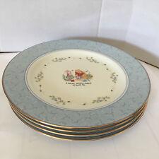 Four(4) Lenox Winnie The Pooh Pantry Dessert Plates Fine Porcelain Disney Piglet