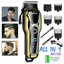 Professional Hair Clippers KEMEI Men's Basic Barber Set Mains Trimmer Shaver NEW