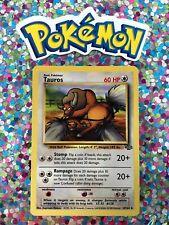 ⭐️ Pokemon 1999 Tauros Jungle Set Nintendo Wizards WotC Vtg 1st Gen Old Card 🎏