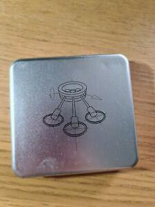 Troika metal Keyring