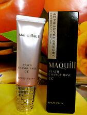 Shiseido MAQUILLAGE PEACH CHANGE BASE CC (30g/1fl.oz.) SPF25 PA+++ NIB