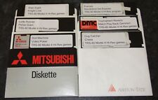5 Disks of Games for the TRS-80 Model 4 / 4P with Hi-res graphics upgrade