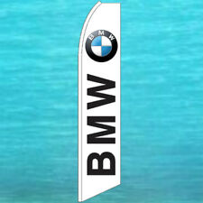 Bmw Wind Flutter Flag Tall Curved Top Advertising Sign Feather Swooper Banner