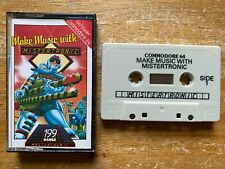 COMMODORE 64 (C64) - MAKING MUSIC WITH MISTERTRONIC (BY MASTERTRONIC) - SCC