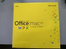 Microsoft Office MAC 2011 Home & Student Retail DVD Install MAC 1 Use New