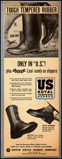 1951 vintage ad for US Rubber Foot Wear   -033012