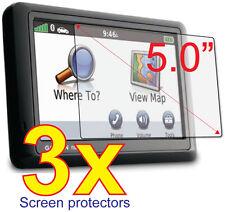 3x Clear LCD Screen Protector Guard Film For GPS Garmin Nuvi 2555 2595 LM LT LMT