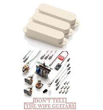 EMG SA SET OF 3 IVORY PICKUPS ( FREE WORLDWIDE SHIPPING ) Fender Stratocaster
