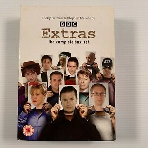 Extras - The Complete Collection (DVD, 2009, 5-Disc Set) Region 2 and 4