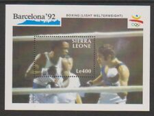Sierra Leone - 1990, Olympic Games, Barcelona (1992) sheet - MNH - SG MS1534a